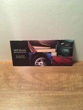 1994 Honda Accessories Sales Brochure 94 Civic Accord Prelude
