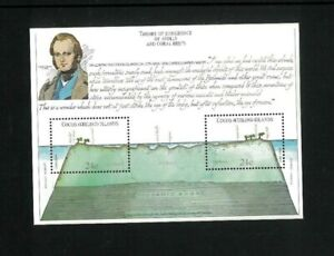 Cocos Islands 78-81 Charles Darwin Topical. Cat.78.75 (2.25 x 35). Wholesale