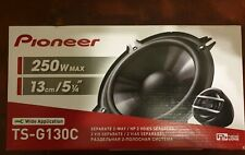 "PIONEER TS-G130C 5.25"" INCH 13CM 250 WATT 2 WAY COMPONENT CAR VAN DOOR SPEAKERS"