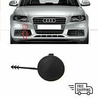 FOR AUDI A4 B8 2007 - 2011 NEW FRONT BUMPER TOW TOWING EYE HOOK COVER CAP