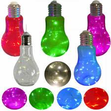 LED Deko Glühbirne Leuchte Tischlampe Hängelampe Mirco Lichterkette Party Deko