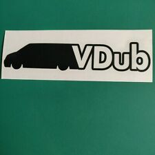 VW T5/T6 VDub - Car/Van/Camper/Bike/Laptop Decal Sticker