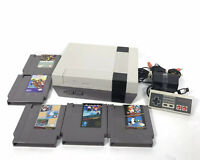 Refurbished Original NES Nintendo System Console New 72 Pin All Hookups 5 Games