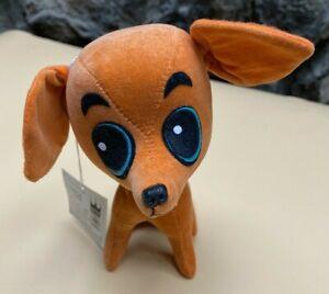 "NEW 1968 Kamar Dog Orange Cihuahua ""Tamale"" stuffed animal from Japan"