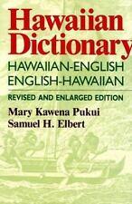 Hawaiian Dictionary: Hawaiian-English, English-Hawaiian, English (All), English