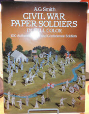 Civil War Paper Soldiers 1985 by A.G.Smith  (9821)