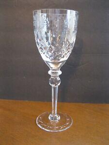 "Rogaska Gallia 9.25"" Water Goblet - Marked"