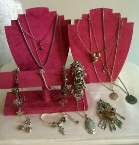 Mixed Costume jewellery items bundle/Used/Lot 27/3 /Vintage/modern