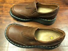 Doc Dr Martens 3B43 Womens Sz US 6 Brown Leather Chunky Oxfords
