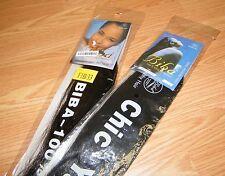 LOT of 2 - 2 / F1B33 Biba Premium/Chic Yaky Pony Toyokalon Fiber Hair extensions