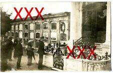 KREUZER EMDEN - orig. Foto, Begräbnismauer, La Coruna, Auslandsreise 1926-28