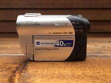 Sony Handycam 40x optical zoom DCR-DVD108