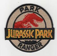 Jurassic Park Ranger Logo Patch 3 inches tall