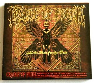 CRADLE OF FILTH - LIVE BAIT FOR THE DEAD (2CD) 2004 - BRAND NEW AND UNPLAYED