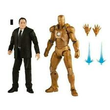 "Hasbro Marvel Legends Happy Hogan & Iron Man Mark 21 6""Action Figures"