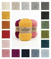 Soft and durable in alpaca, wool and polyamide Drops NORD fingering yarn