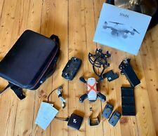 DJI Spark Drohne mit Controller (Fly More Combo) - Weiß, mit extra Zubehör