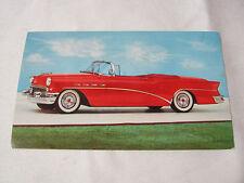 1956 BUICK 56-C SUPER CONVERTIBLE 1950'S VINTAGE POSTCARD  T*