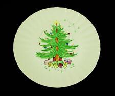 Blue Ridge Potteries•Hand Painted ~ Christmas Tree • Plates•Presents•Mistletoe