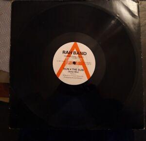 "Rah Band Run 4 The Sun 12"" Vinyl Promo Single 1987"