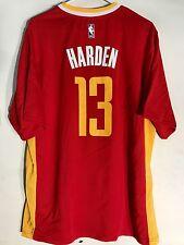 New listing Adidas NBA Jersey Houston Rockets James Harden Red Alt 3rd sz L
