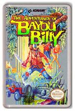 THE ADVENTURES OF BAYOU BILLY NINTENDO NES FRIDGE MAGNET IMAN NEVERA