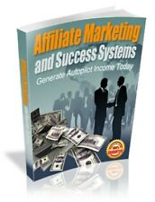 Affiliate Marketing and Success Systems PDF eBook with Full resale rights!