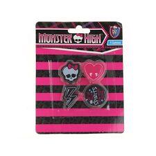 Monster High Set de 4 gommes Monster High