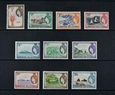 TRISTAN DA CUNHA, QEII, 1954, ten stamps from set to 2s.6d. value, MM, Cat £22.