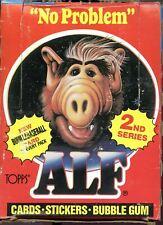 Alf TV Show 2nd Series  Card Box   48 packs