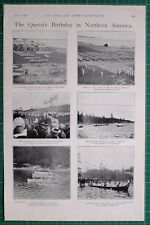 1900 BOER WAR QUEEN'S BIRTHDAY NORTHERN AMERICA BERMUDA ROYAL MARINES CANOE RACE