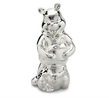 Disney - Winnie the Pooh Silver plated Money Box NEW in Box