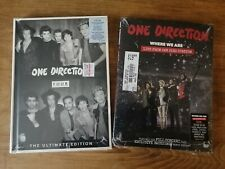 ONE DIRECTION: Four [Deluxe Hardbound Book/CD/BONUS Trx] + Where We Are Live DVD
