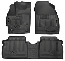 HUSKY WEATHERBEATER FRONT & REAR BACK FLOOR LINERS 2015 Toyota Prius (ALL MODEL)