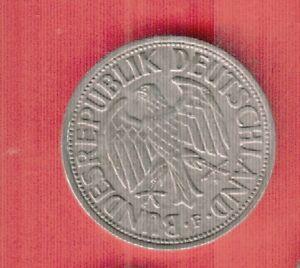 GERMANY 1 MARK 1950 F