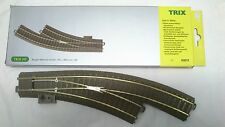 * Trix 62672 HO Manual Curved Right Hand C Track Point Scale HO  00 Brand New