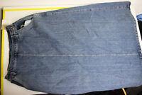 Lizwear Liz Claiborne Women's Denim Blue Jean Skirt 12 NWT MSRP $59.00