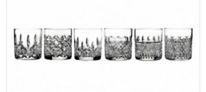 Waterford Crystal Lismore Connoisseur Heritage Assorted Cut Glasses - Set of 6