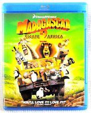 Madagascar 2 Escape Africa Blu-Ray Movie