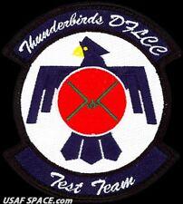 USAF 416th FLIGHT TEST SQ- THUNDERBIRDS DIGITAL FLIGHT CONTROL TEST TEAM PATCH