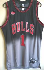 Adidas NBA Chicago Bulls Basketball Derrick Rose #1 Limited Edition Jersey M NEW