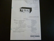 Service Manual Sony TC-K6/K6B