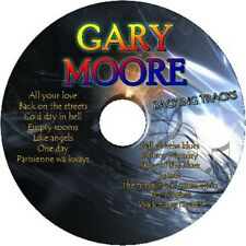 GARY MOORE GUITAR BACKING TRACKS CD BEST GREATEST HITS MUSIC PLAY ALONG BLUES