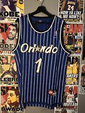 Anfernee Penny Hardaway #1 Orlando Magic Nike Blue Jersey Mens Medium