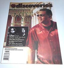 DISCOVERIES Music Mag- #162 - Nov 2001 - Robert Cray, Martha Davis, R&B Jivers