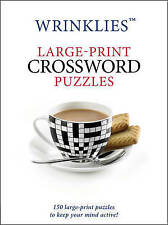 Large-Print Crossword Puzzles (Wrinklies), No Author | Paperback Book | Good | 9