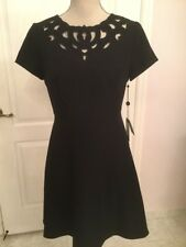 NWT Adrianna Papell Black Dress Work Career Size 6P