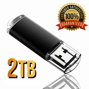USB 2 TB Stick 2.0 Speicher Flash-Laufwerk Thumb Key Für PC / Mac Media DevT3BPA