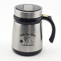 Self Stirring Cold&Hot Stainless Steel Mug Auto Mixer Tea Sugar Travel Cup