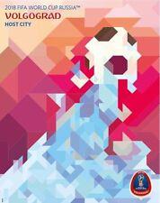 World Cup 2018 WC Russia Host City VOLGOGRAD Soccer Art Poster New 26 x 34
